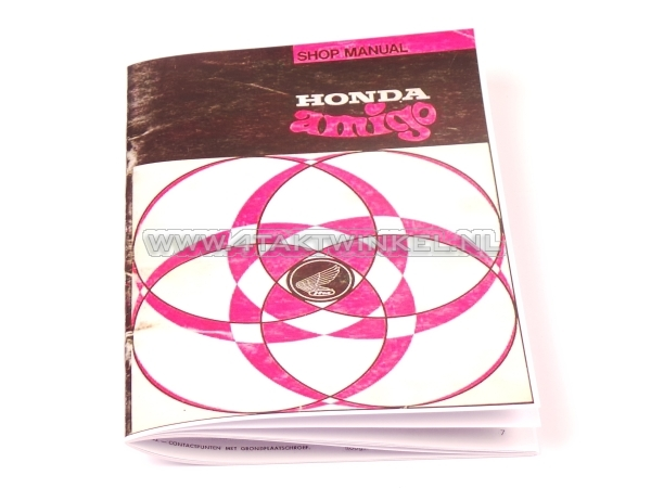 Werkplaatsboek,-Honda-Amigo,-Novio
