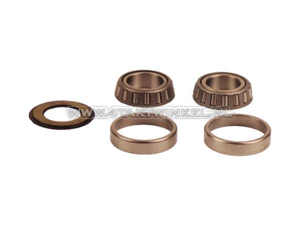 Balhoofdlager-set,-SS50,-CD50,-Dax,-CB50,-conisch-A-kwaliteit