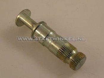 Remhevel-as-14mm,-achter-SS50,-C50,-origineel-Honda,-NOS