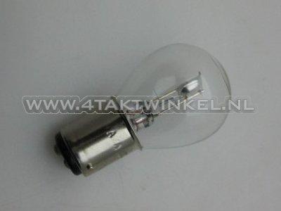 Koplamp-BAX15D,-duplo,--6-volt,-15-15-watt,-o.a.-SS50,-CD50