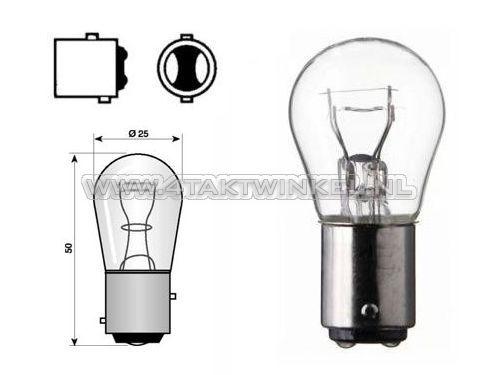 Achterlamp-duplo-BAY15D,--6-volt,-21-5-watt