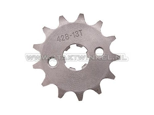 Voortandwiel,-428-ketting,-17mm-as,-13,-Mash-/-AGM