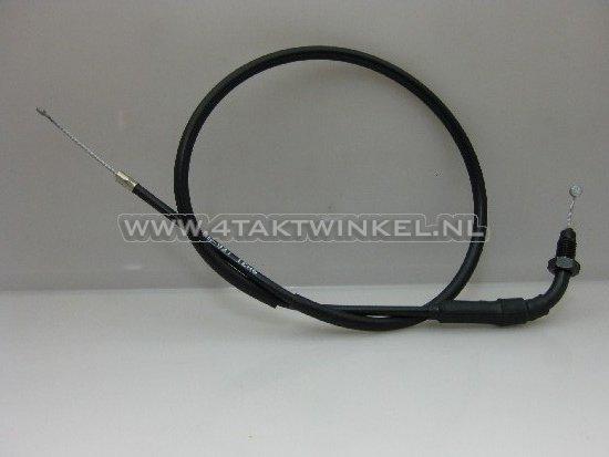 Gaskabel,-Dax-AB23,-76cm,-met-bochtje,-origineel-Honda