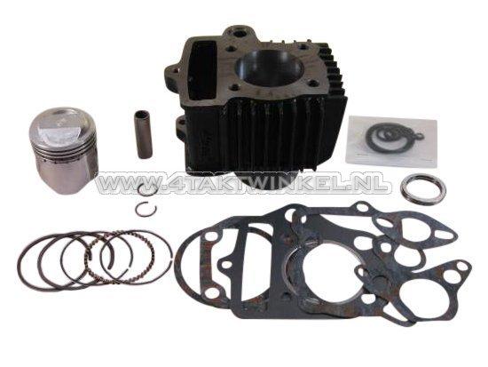 Cilinderset,-met-zuiger-&-pakking-70cc,-OT50-kop-49cc-opdr.-staal,-Japans