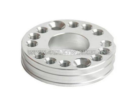 Draaiplaat-voor-carburateur-aluminium,-blank