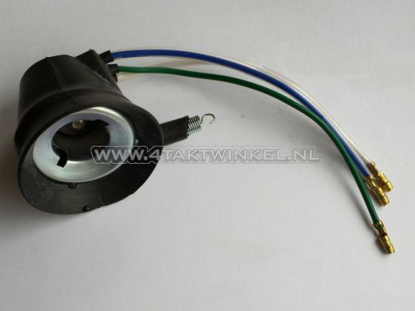 Fitting-koplamp,-Dax,-C50,-BA20d,-origineel-Honda
