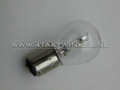 Koplamp-BAX15D,-duplo,--6-volt,-25-25-watt,-o.a.-SS50,-CD50