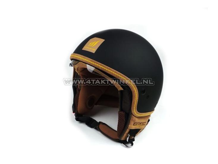 Helm-MT,-Cosmo,-Mat-Zwart,-Maten-XS-t/m-XL