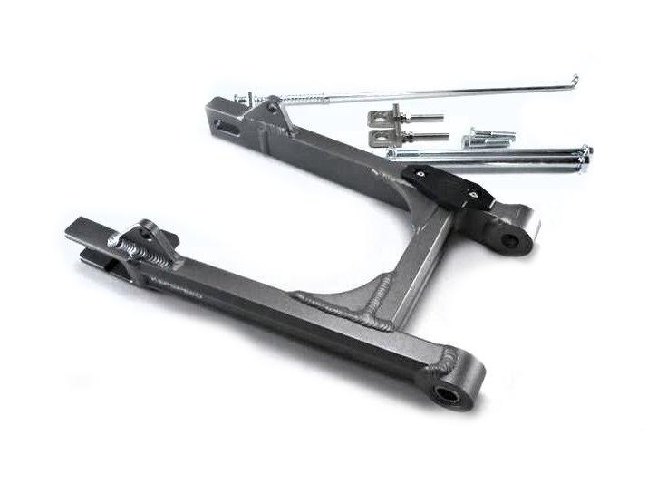 Achterbrug-Monkey-aluminium,-Kepspeed,-lengte:-+-4cm,-Grijs
