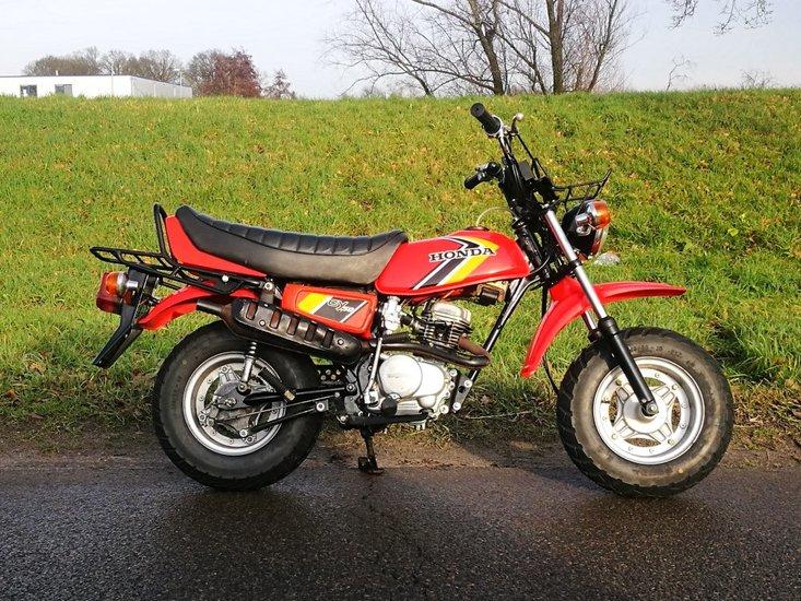 Honda-CY50,-1690km