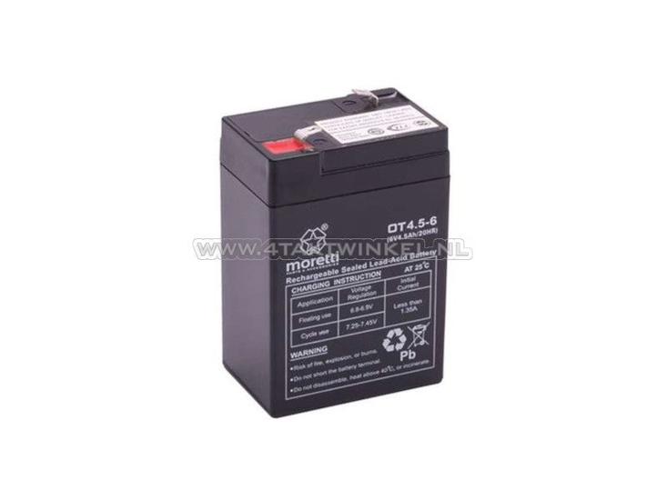 Accu-6-volt-4-ampere,-SS50,-Dax,-gel,-universeel