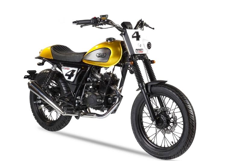 Mash-Dirt-track,-50cc,-Euro-4,-goud