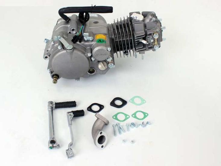 Motorblok,-150cc,-handkoppeling,-YX,-4-bak